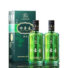 38°杏花村汾酒金象竹叶青(优级)500ml(2013年)(2瓶装)【买2瓶配手提袋一只】