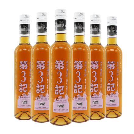 丰收 美味心情日记 第3记 14.8度 水金桂花葡萄酒 500ml*6瓶