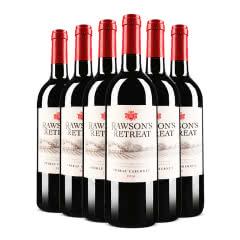澳大利亚原瓶进口红酒奔富洛神山庄设拉子赤霞珠红葡萄酒750ml*6整箱装