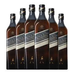 40°英国尊尼获加黑方(醇黑)威士忌700ml(六支装)