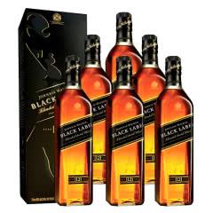 40°英国尊尼获加黑方威士忌750ml(6瓶装)