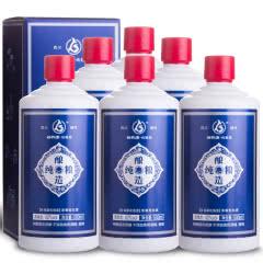 42°谷养康粮食酒 优级蓝 500ml*6瓶整箱装