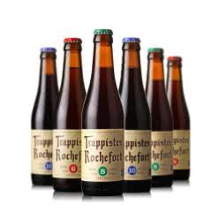 比利时进口罗斯福6号8号10号精酿啤酒组合装330ml(6瓶装)