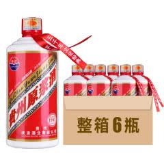 贵州原浆茅台镇原浆酒浓香型52度白酒 500ML*6瓶 整箱装