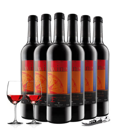 西班牙原瓶进口艾斯干红葡萄酒750ml*6(整箱)