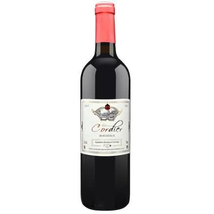 12°法国原酒进口红酒 精选橡木桶干红葡萄酒750ml