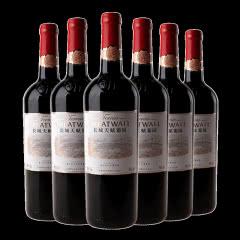 长城干红葡萄酒13度天赋葡园解百纳国产红酒整箱6瓶