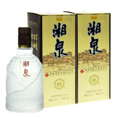 52°酒鬼酒文化湘泉酒500ml*2瓶装