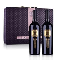 澳大利亚丁戈树庄主珍藏西拉干红葡萄酒750ml *2+精品双支皮盒