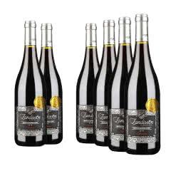 法国勆迪精选干红葡萄酒750ml(6瓶装)