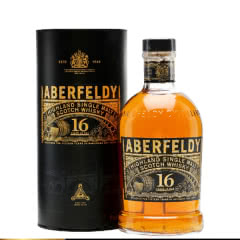 40°英国艾伯迪16年高地单一麦芽威士忌700ml