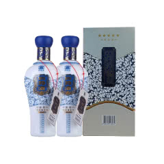 52°四特酒锦瓷五星460ml(2瓶装)