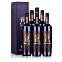 澳大利亚红酒丁戈树金标西拉干红葡萄酒六支套装