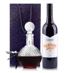 澳大利亚原瓶进口兰伯特野马莎莉设拉子干红葡萄酒750ml