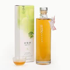花见hanami日式青梅酒520ml盒装酿入绍兴花雕酒黄酒 日本工艺果酒女士酒露酒