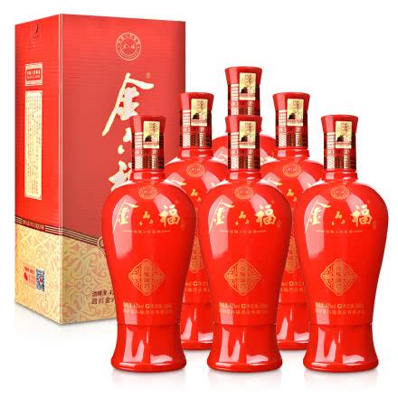 42°金六福六福临门500ml(6瓶装)