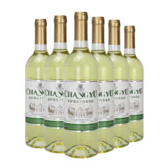 张裕 精选干白 国产葡萄酒750ml*6瓶整箱装红酒