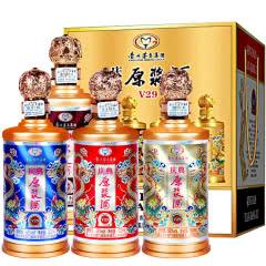 52°贵州茅台集团庆典原浆V29 500ml(4瓶)