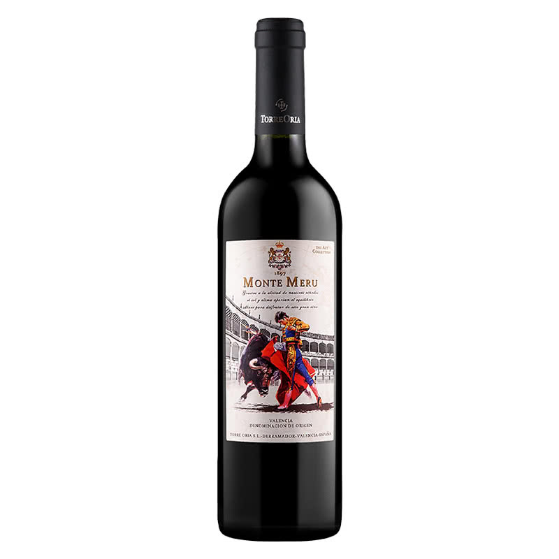 莫奈山斗牛士干红葡萄酒