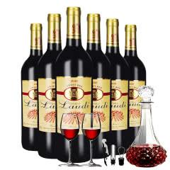 6支装法国原酒进口弗诗妮2008红葡萄酒750ML自饮送礼佳酿整箱装