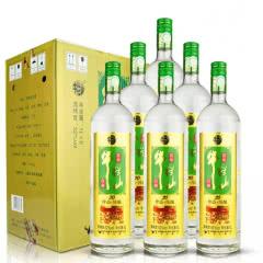 52°牛栏山二锅头(20)二十 珍品陈酿 土豪金1000ml*6瓶 白酒整箱