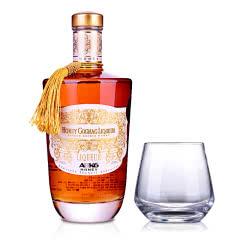 35°法国ABK6甜心干邑白兰地配制酒700ml+洋酒杯