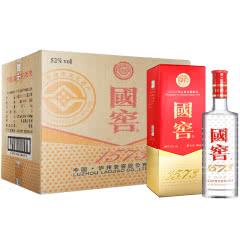 52°泸州老窖国窖1573浓香型白酒整箱装酒水500ml(6瓶装)