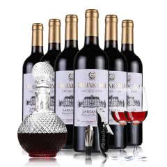法国原酒进口醉慕爱尔莎红酒干红葡萄酒整箱6支装六瓶整箱套装 750ml*6