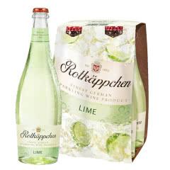 Rotkappchen/小红帽 德国原瓶进口红酒 甜起泡气泡葡萄酒200ml*4 青柠味