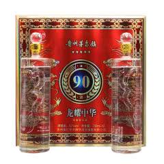 52°白酒礼盒2瓶750ml*2礼品装送礼龙酒龙耀中华浓香型年货礼