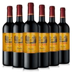 哥仑布古堡哥伦布干红葡萄酒骑士750ml(6瓶装)