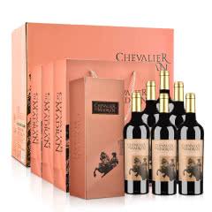 梦特骑士波尔多红葡萄酒750ml*6