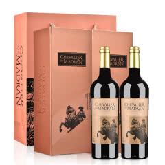 梦特骑士波尔多红葡萄酒750ml*2