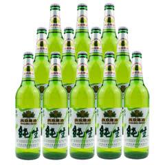 燕京啤酒 10度纯生 600ml(12瓶装)