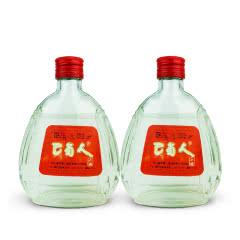 老酒 52°邛崃巴蜀人大曲酒245ml(2瓶装)1999年