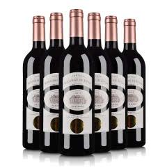 (酒仙直采·中级庄)法国红酒鲁索喜萍城堡干红葡萄酒750ml(6瓶套)