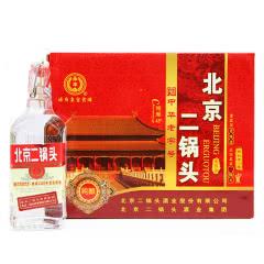 永丰牌北京二锅头清香型纯粮酒(出口型小方瓶)红标42度(整箱装)500ml*12瓶