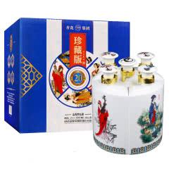 53°汾酒杏花村产地四大美女五件套白酒礼盒300ml(5瓶装)