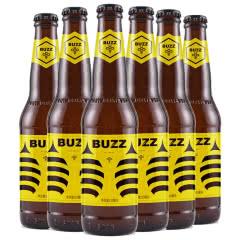 中国好精酿 国产蜂狂桂花蜂蜜艾尔啤酒BUZZ 330ml*6