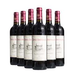 法国红酒原瓶进口爱思堡朗格多克红葡萄酒750ml*6瓶整箱装