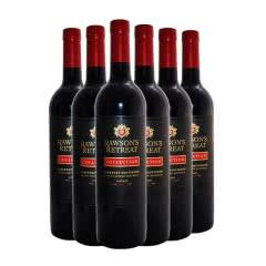 澳洲原瓶进口红葡萄酒 奔富洛神山庄 黑金赤霞珠 西拉红葡萄酒750ml(6瓶装)