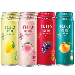 RIO/锐澳3度微醺系列鸡尾酒果酒330ml(12罐装)