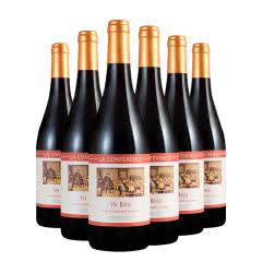 法国红酒原瓶进口传授者红葡萄酒750ml*6瓶整箱装
