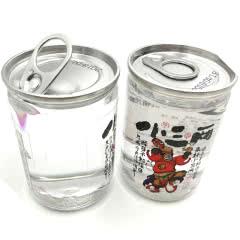 小三两口杯酒 52度小酒版150ml*2瓶 浓香型白酒 山东酒 两瓶(图案随机发)