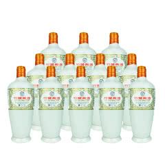 老酒 45°瓷瓶竹叶青500ml(12瓶装)2010年