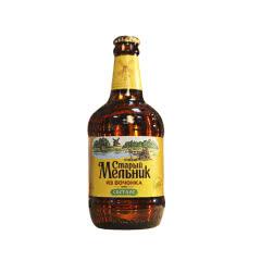 俄罗斯进口老米勒啤酒玻璃瓶装精酿黄啤酒450ml*12【深色烈性12瓶】