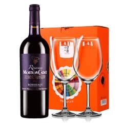 木桐嘉棣珍藏波尔多2012干红葡萄酒法国进口红酒750ml
