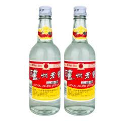 老酒 52°泸州老窖二曲酒500ml (2瓶装)2011年