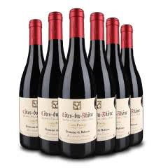 【精品红酒】威赛帝斯 法国原瓶进口 罗纳河谷产区精选 雷布斯干红葡萄酒750ml(6瓶装)