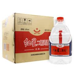 60°北京红星二锅头 桶装泡酒 清香型白酒 5L(4桶装)